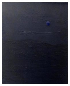 Blue Moon, Acrylic by Toby Patricia Chittum - Size 30in x 24in (November 2016)