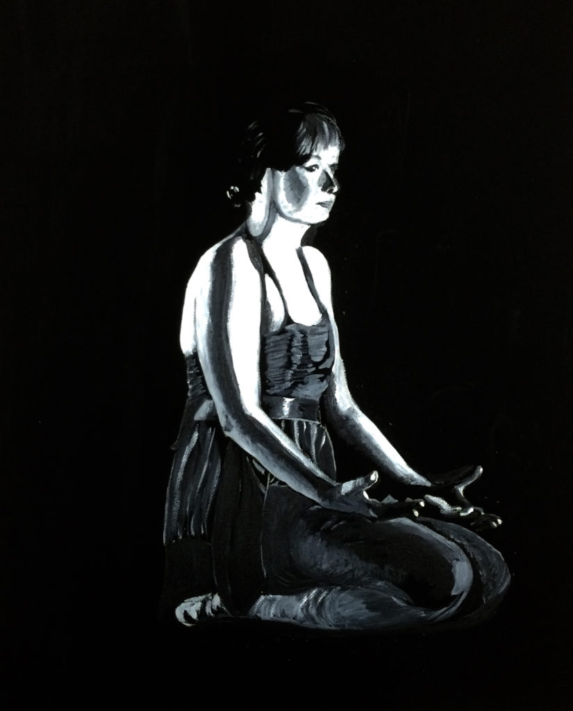 Dancer in Repose by Suzi Bevan (Jan-June 2017, CBTC)