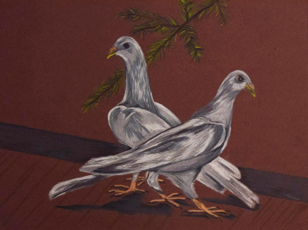 Doves by Donna Jones (Jan-June 2017, CBTC)