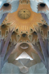 Gaudi Ceiling, Photography by Taylor Cullar - Size 12in x 8in x 2in (February 2017)