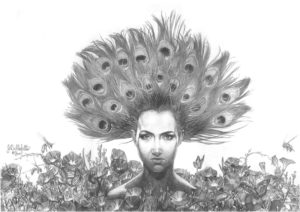 Glory Morning, Graphite on Paper by Joseph Bellofatto - Size 12in x 17in (March 2017)