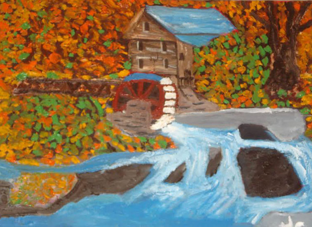 Grist Mill by James Clark (Jan-June 2017, CBTC)