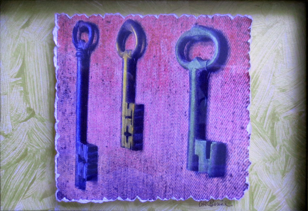 Keys to the Bastille by Penny Parrish (Jan-June 2017, CBTC)