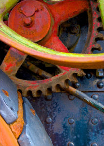 Mechanical Details, Photograph by Lee Cochrane - Size 7in x 5in (April 2017)