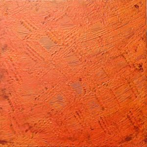 Orange Glow, Acrylic by Carl Zeigler - Size 12in x 12in 1 (Dec.2016-Jan.2017)