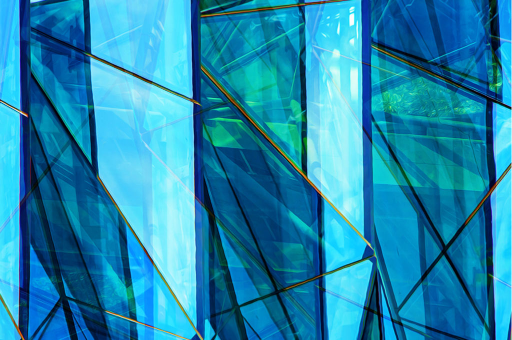 Refractions in Blue by Dave Kennedy (Jan-June 2017, CBTC)
