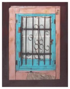 Windsor Window, Paper Construction by Katharine K. Owens - Size 40in x 31in (November 2016)