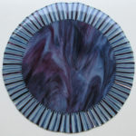 Ethereal, Fused Glass with Stand by Ben Childers, Size 15iin Diameter (June 2017)