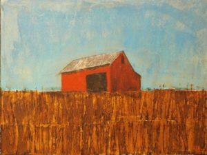Farmers Ridge, Mixed Media by Bob Worthy- Size 12in x 16in (July 2016)