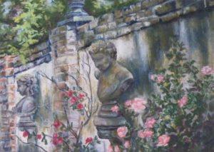 A Gardens Secret, Pastel by Kathleen Willingham (February 2012)