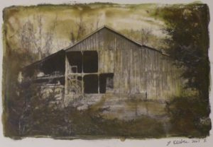 Abandoned, Mixed Media Photography by Linda Keefer (February 2012)