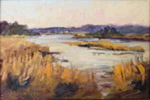 Allens Fresh in Fall, Oil on Linen by Lynn Mehta (February 2012)