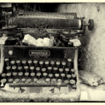 Woodstock Typewriter, Photography by Penny A. Parrish, Size 16in x 20in. (June 2017)