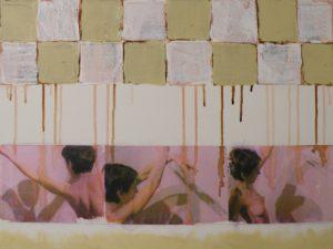 Genine Dances, Mixed Media by Bob Worthy (November 2012)