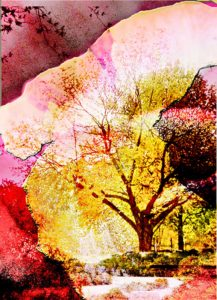 September Morn, Digital Painting by Carolyn R. Beever (September 2012)