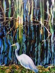 Nature's Palette, Oil by Charlotte Richards (September 2012)