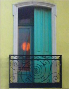 Aqua Doors Ceret, Metallic Photo LtdEd by Deborah D Herndon (March 2012)