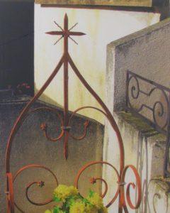 Rusty Cross Corneliade Conflent, Metallic Photograph Ltd Ed by Deborah D. Herndon (November 2012)