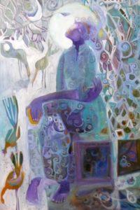 Pandoras Box, Oil by Joan C Limbrick (April 2012)