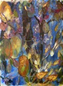 Midnight in the Garden of Eden, Oil by Judy Zatsick (March 2012)