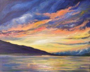 Highland Hues, Oil by Karen M. Julihn (September 2012)