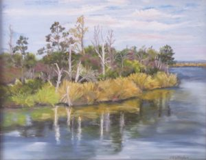 Collington View, Pastel by Kathleen Willingham (June 2012)