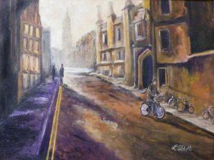 First Light, Acrylic by Lynn Abbott (November 2012)
