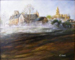 Soft Sunrise, Acrylic by Lynn Abbott (April 2012)