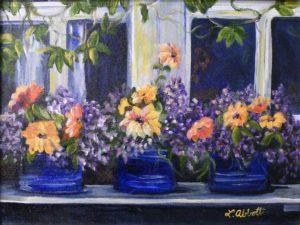 Sunny Serenity, Acrylic by Lynn Abbott (September 2012)