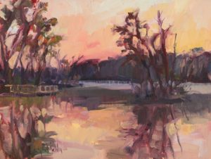 Morning, Oil on Linen by Lynn Mehta (March 2012)