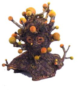 FIRST PLACE: Woodsman, Mixed Media by Marc Robarge (June 2012)