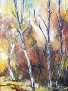 Nature's Glow, Oil by Nita Adams (September 2012)