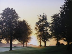Morning Song, Oil on Canvas by Richard Young (November 2012)