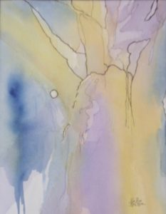 Beyond Reach, Watercolor and Ink by Rita Rose Apter and Rae Rose Cohen (June 2012)
