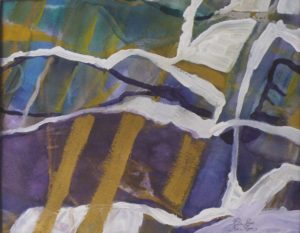 Pathways, Mixed Media by Rita Rose Apter and Rae Rose Cohen (October 2012)