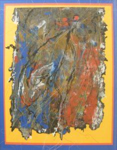 Ruffled Feathers, Mixed Media by Stephanie Athanasaw (September 2012)