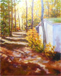 The Pathway Home, Oil by Kathleen Willingham, Size 20in x 16in (July 2017)