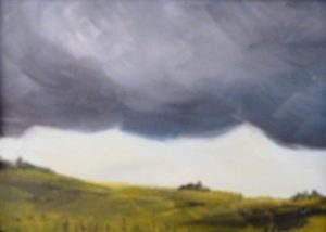 Storm Coming, Acrylic by Carol Baker (December 2012)