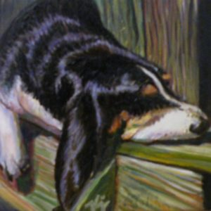 Dog Daze, Oil by Karen Julihn (December 2012)