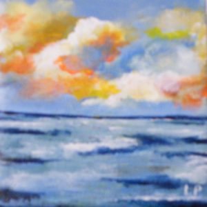 Morning Tide, Acrylic by Liana Pivirotto (December 2012)