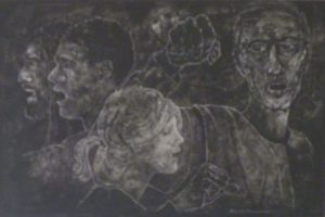 Protest, Ink by Phyllis Graudszus (December 2012)