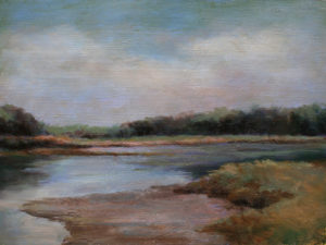 Maine Marsh, Oil by Sharon Grubbs (December 2012)