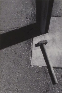 Union Station Hammer-Sidewalk Series, Digital Photography by David Lovegrove, 12in x 8in, $200 (February 2018)