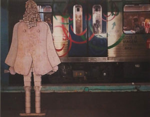 Marques de Pombal and Metro, Archival Metallic Print by Deborah D. Herndon, 15.5in x 20in, $250 (March 2018)
