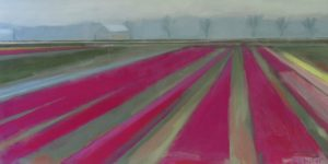 Between the Rows, Acrylic by Carol Phifer, 12in x 24in (May 2013)
