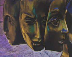 Bronze Sirens, Digital Photography by Vincent Staley, 11in x 14in (April 2013)