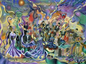 Chorus, Oil on Canvas by Laurie Nelson, 30in x 40in (July 2013)