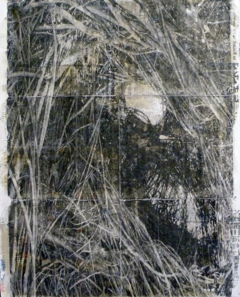 HONORABLE MENTION: Diamonds in the Rough #1, Mixed Media by Bob Worthy, 24in x 18in (May 2013)