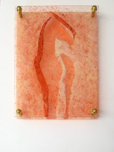 Equine Layers IV, Acrylic on Plexiglas by Robyn Ryan, 12in x 9in (May 2013)