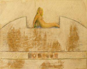Goddess #2, Mixed Media by Bob Worthy, 16x20 (February 2013)